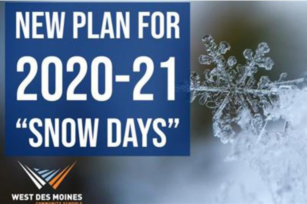 new plan for 2020-21 snow days