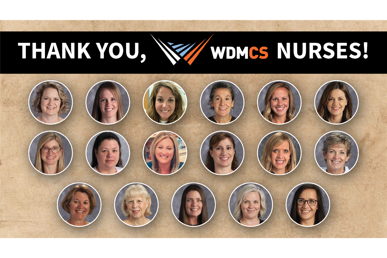 thank you, wdmcs nurses