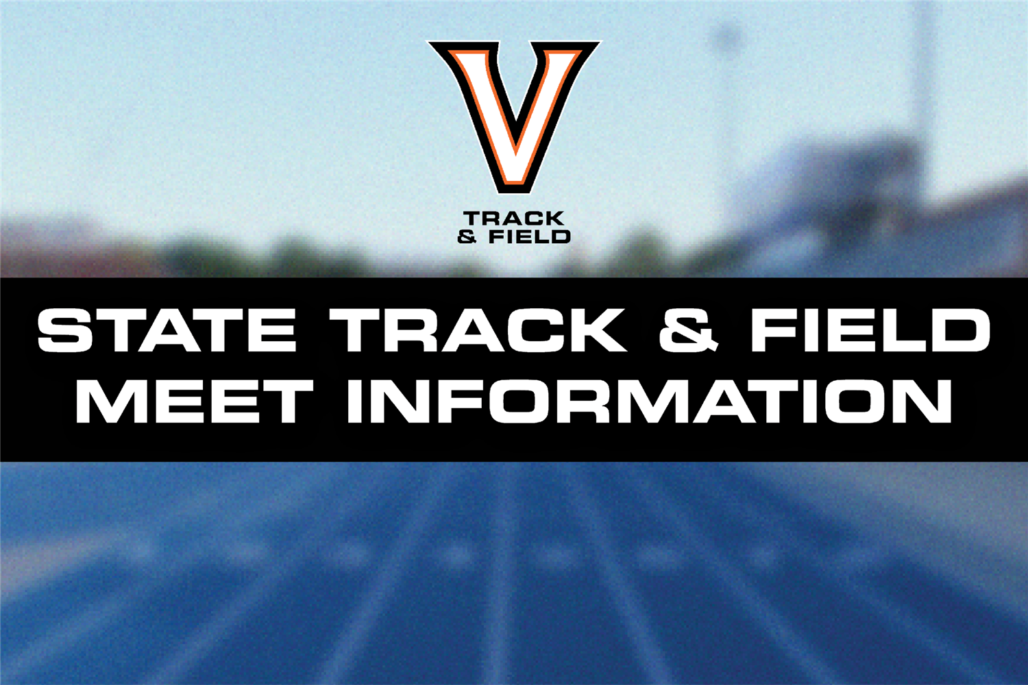 state track and field meet information