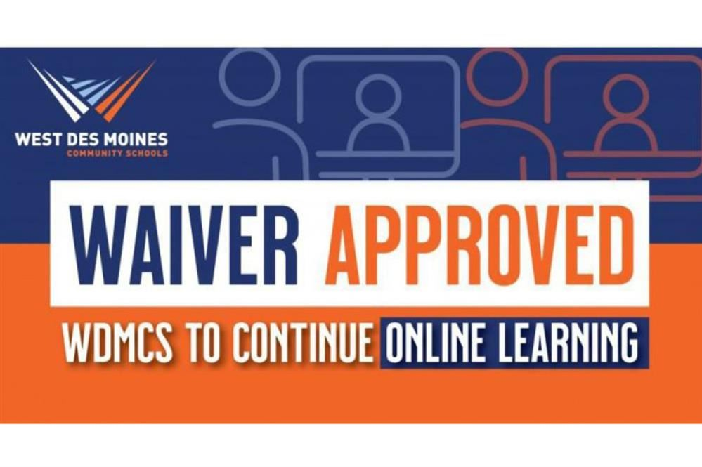 waiver approved to continue online learning